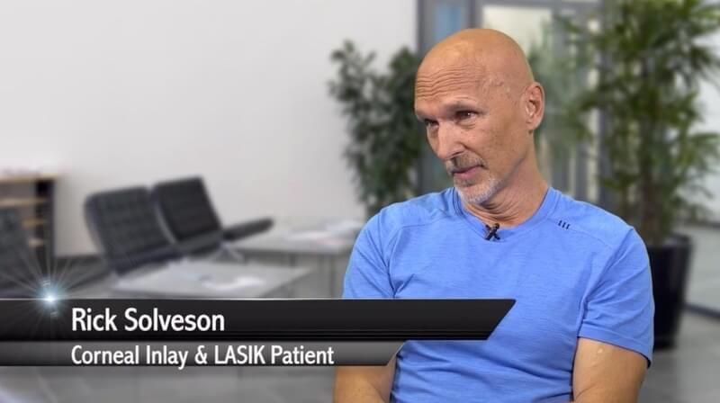 Screenshot From LASIK patient
