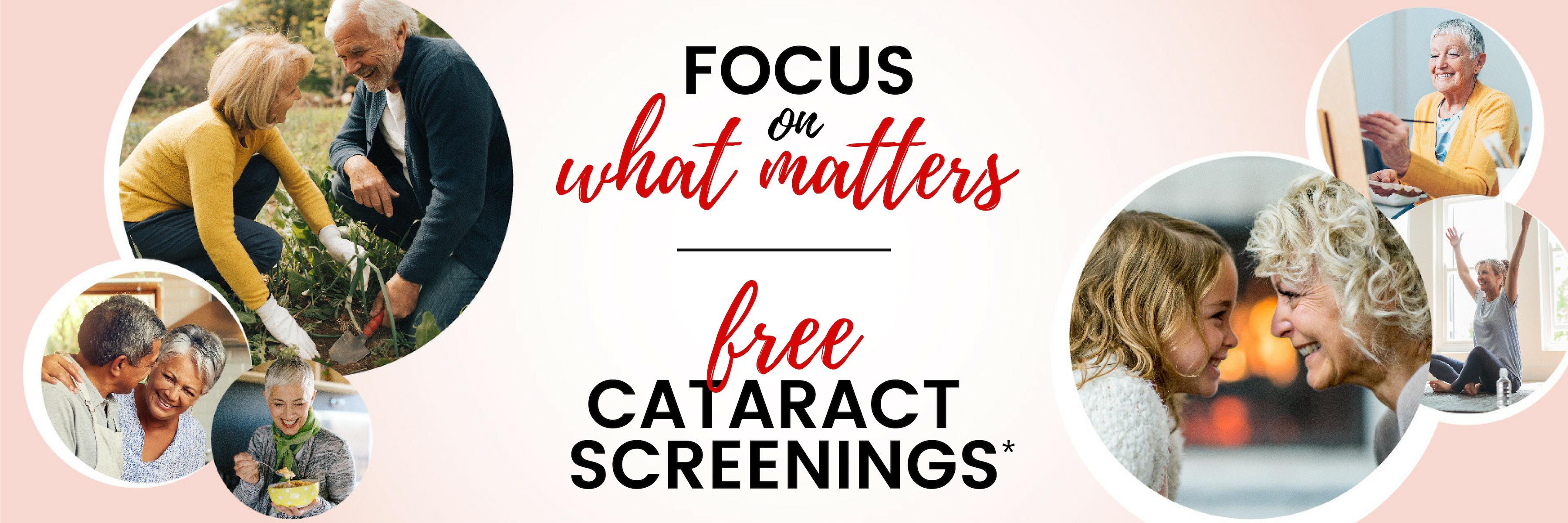 free cataract screening