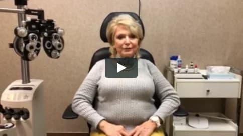 Screenshot of Jean's Patient Story Video
