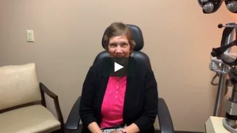 Screenshot of Nancy's Video Testimonial