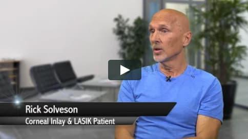 Screenshot of Richard's Patient Story Video