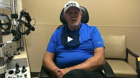 Screenshot of Robert's Patient Story