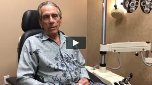 Screenshot of Roger's Patient Story Video