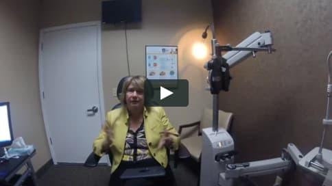 Screenshot of Vanessa's Patient Story Video