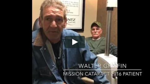 Screenshot of Walter's Patient Story Video